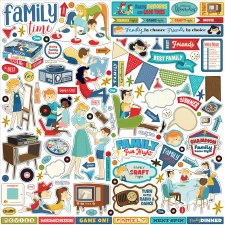 Family Night Sticker Sheet