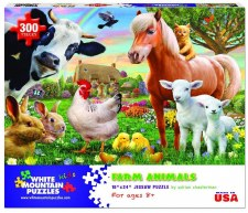 Farm Animals - 300 Piece Puzzle