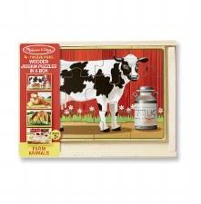 Melissa & Doug Jigsaw Puzzle- Farm Animals
