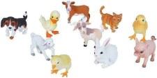 Nature Tube- Farm Babies Figurines