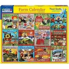 Farm Calendar - 1,000 Piece Puzzle