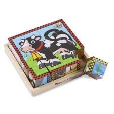 Melissa & Doug Cube Puzzle- Farm