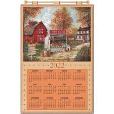 2022 Felt & Sequin Calendar Kit- Farm Fresh