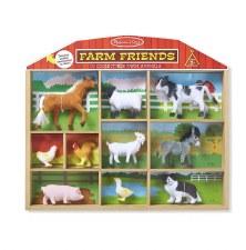 Melissa & Doug Farm Friends- 10 Collectible Figurines