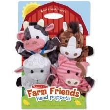 Melissa & Doug Hand Puppets- Farm Friends