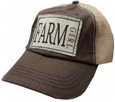 Women's Trucker Baseball Cap- Farm Girl