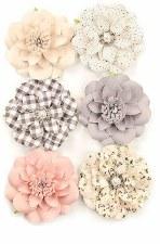 Spring Farmhouse Flower Embellishments- Blessings