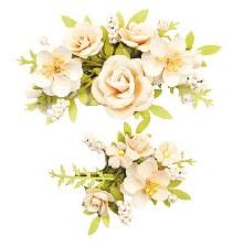 Spring Farmhouse Flower Embellishments- Humble & Kind
