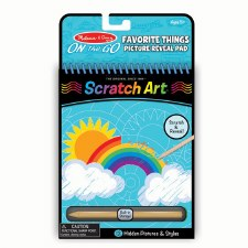 Melissa & Doug On The Go Scratch Art- Favorite Things