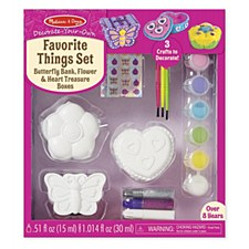 Melissa & Doug Decorate Your Own- Favorite Things