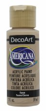 Americana Acrylic Paint, 2oz- Browns: Fawn