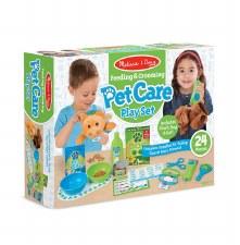Melissa & Doug Pet Care Play Set- Feeding & Grooming