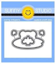 Sunny Studio Feeling Froggy Craft Dies