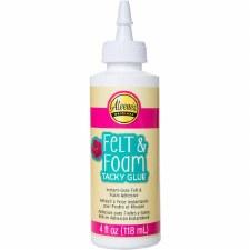 Aleene's Felt and Foam Tacky Glue - 4oz