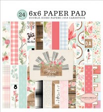 Farmhouse Market 6x6 Paper Pad