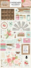 Farmhouse Market Chipboard- Accents