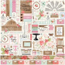Farmhouse Market Sticker Sheet