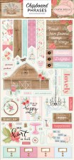 Farmhouse Market Chipboard- Phrases