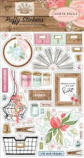 Farmhouse Market Puffy Stickers