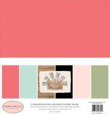 Farmhouse Market Solids Paper Kit