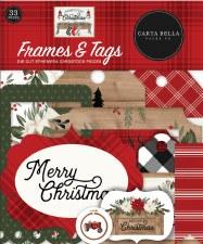 Farmhouse Christmas Dies Cuts- Frames & Tags