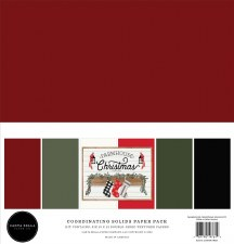 Farmhouse Christmas Solids Paper Pack