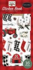 Farmhouse Christmas Sticker Book
