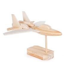 Wood Model Kit- Fighter Jet
