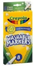 Crayola Markers, 8ct Fine Line