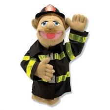 Melissa & Doug Hand Puppet- Firefighter