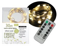 30ct Firefly Lights w/ Remote- Warm White