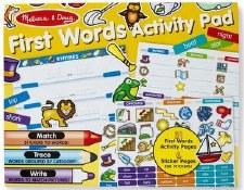 Melissa & Doug Activity Pad- First Words
