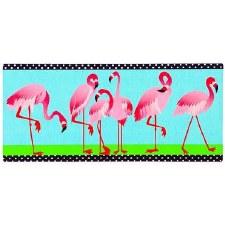 Sassafrass Switch Mat Insert- Flamingo Garden