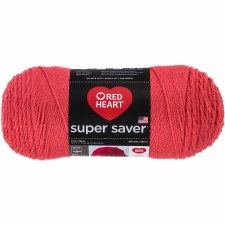 Red Heart Super Saver Yarn- Flamingo