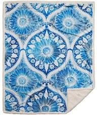 Plush Throw Blanket- Blue Chakra