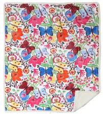 Plush Throw Blanket- Butterflies