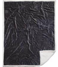 Plush Throw Blanket- Grey