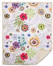 Plush Throw Blanket- Wildflowers