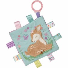 Taggies Crinkle Me Baby Toy- Flora Fawn