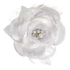 Floral Bridal Blooms Embellishments, 1ct- Gray Rose