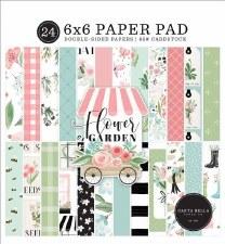 Flower Garden 6x6 Paper Pad