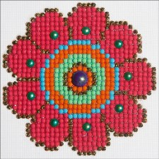 Diamond Facet Art Kit- Flower Power
