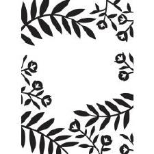 Darice Embossing Folder- Nature- Flowers & Leaves