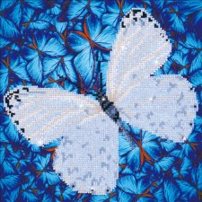 Diamond Facet Art Kit- Flutterby White