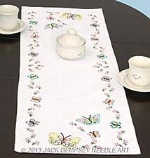 Table Runner- Fluttering Butterflies