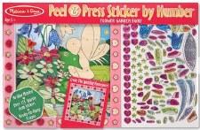 Melissa & Doug Peel & Press Sticker by Number- Flower Fairy