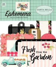 Flower Market Ephemera Die Cuts