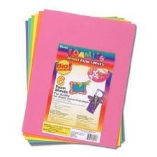 """Foamie 6 Sheet Assortment, 9""""x12""""- Brights"""