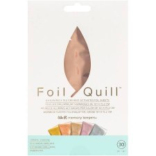 "Foil Quill Heart Activated Foil 30pk, 4""x6""- Shining Star"