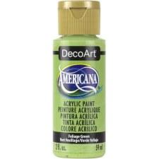 Americana Acrylic Paint, 2oz- Greens: Foliage Green